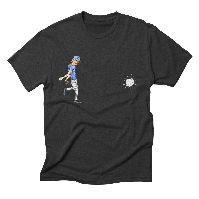 Randy Johnson vs Bird, 2001 Men's Triblend T-Shirt by The Gummy Arts Shop