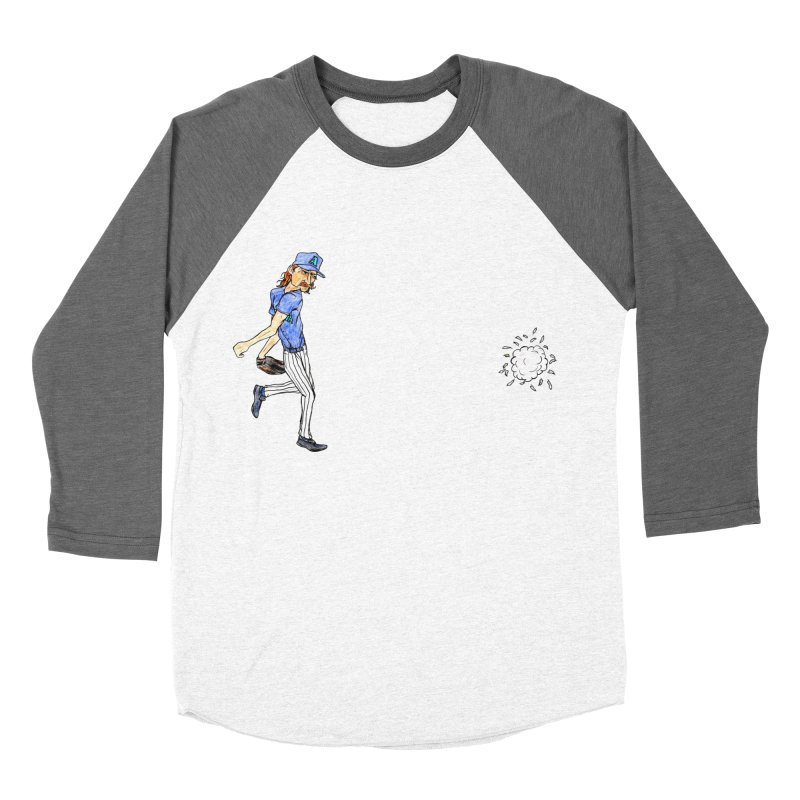 Randy Johnson vs Bird, 2001 Women's Baseball Triblend T-Shirt by The Gummy Arts Shop