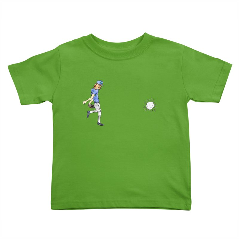 Randy Johnson vs Bird, 2001 Kids Toddler T-Shirt by The Gummy Arts Shop