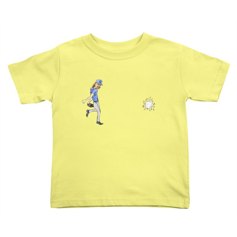 Randy Johnson vs Bird, 2001 Kids Toddler T-Shirt by The Gummy Arts Shop