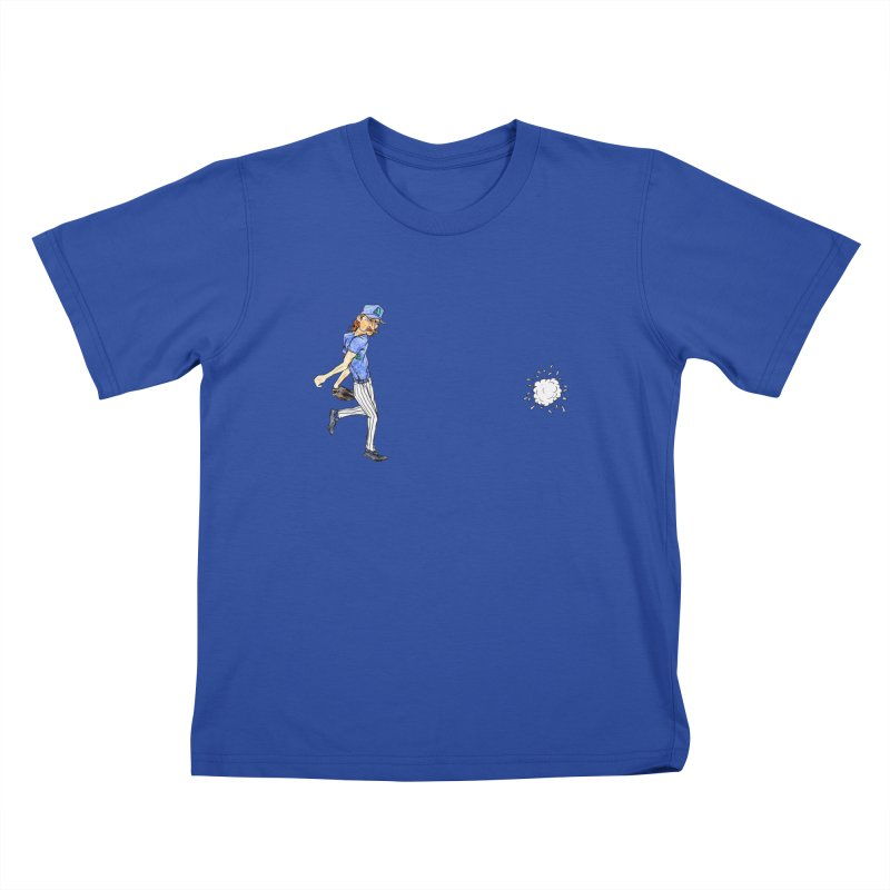 Randy Johnson vs Bird, 2001 Kids T-Shirt by The Gummy Arts Shop
