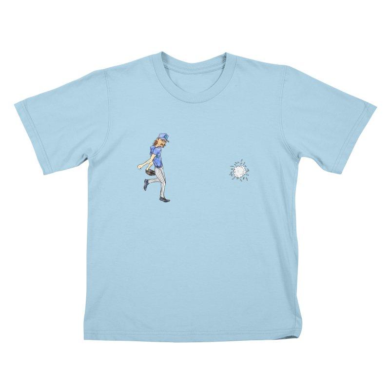 Randy Johnson vs Bird, 2001 Kids T-Shirt by The Gummy Arts Shop