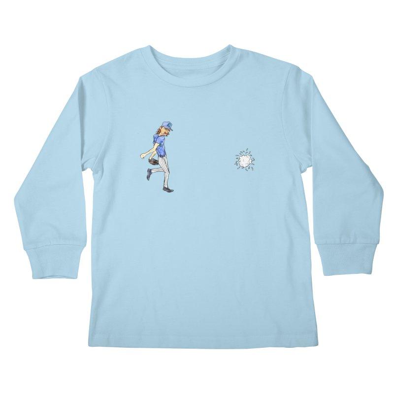 Randy Johnson vs Bird, 2001 Kids Longsleeve T-Shirt by The Gummy Arts Shop