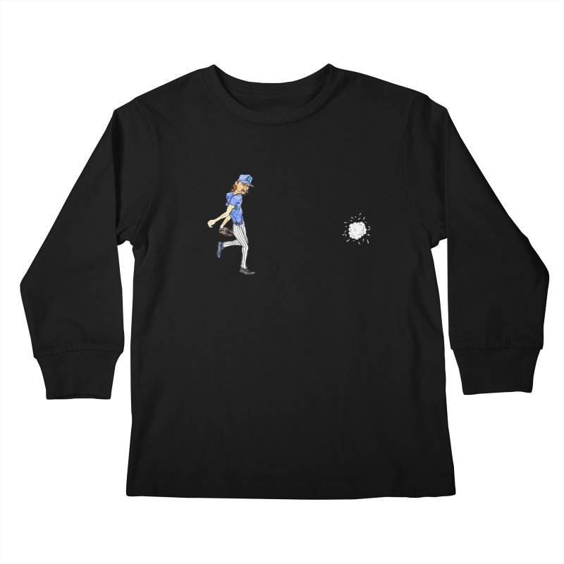 Randy Johnson vs Bird, 2001 Kids Longsleeve T-Shirt by The Gummy Arts Shop