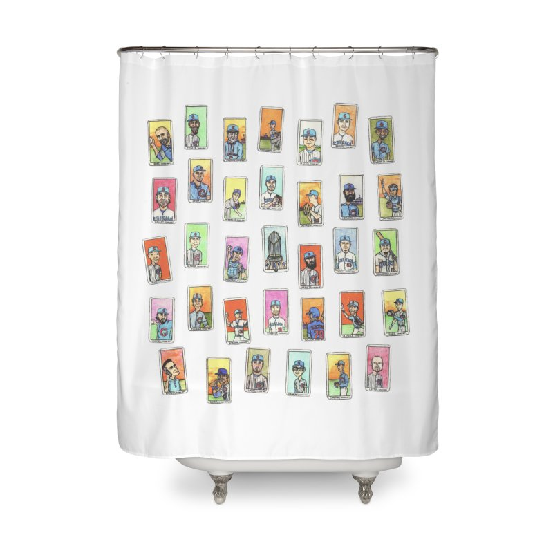 World Champions, 2016 Home Shower Curtain by The Gummy Arts Shop