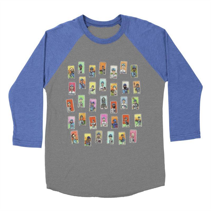 World Champions, 2016 Women's Baseball Triblend Longsleeve T-Shirt by The Gummy Arts Shop