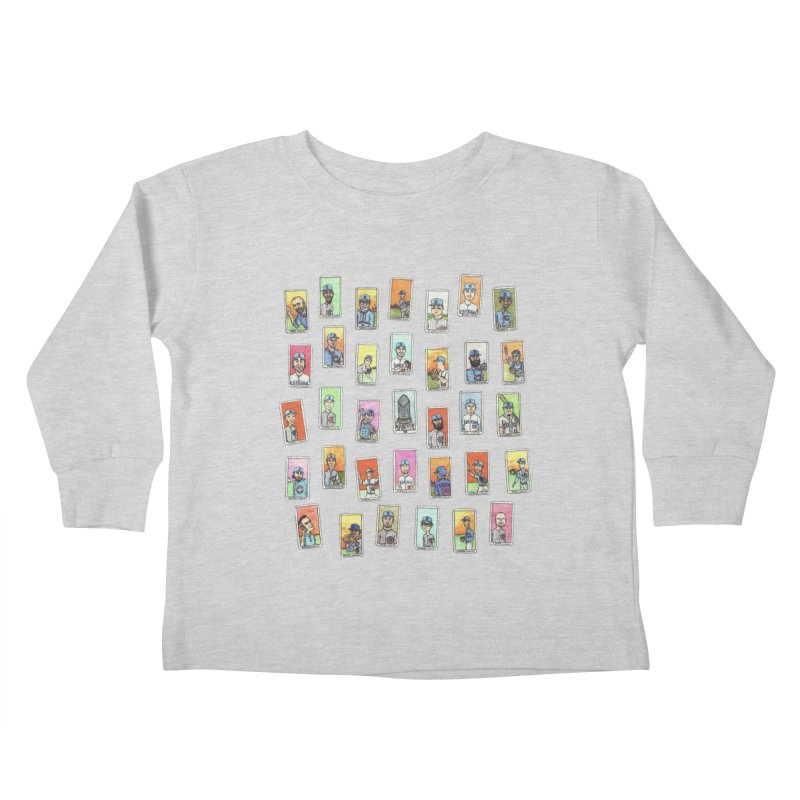 World Champions, 2016 Kids Toddler Longsleeve T-Shirt by The Gummy Arts Shop