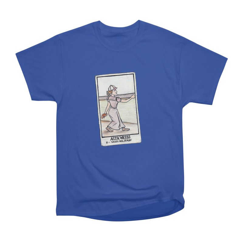 Alta Weiss Women's Heavyweight Unisex T-Shirt by The Gummy Arts Shop