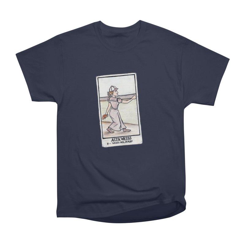 Alta Weiss Men's Heavyweight T-Shirt by The Gummy Arts Shop