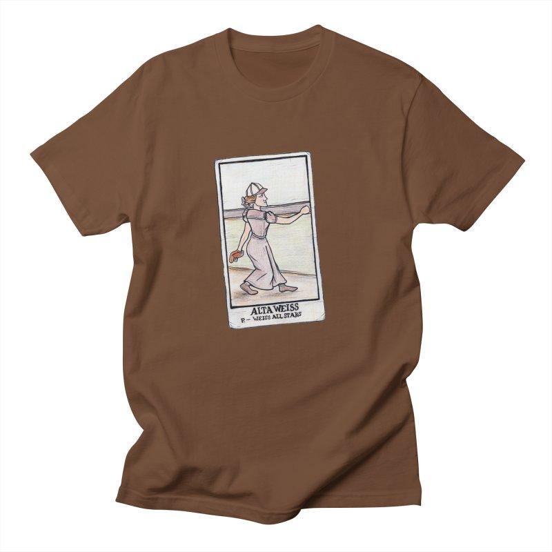 Alta Weiss Women's Unisex T-Shirt by The Gummy Arts Shop
