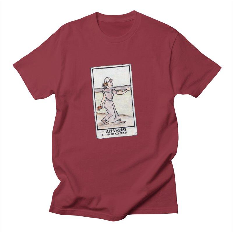 Alta Weiss Men's T-Shirt by The Gummy Arts Shop