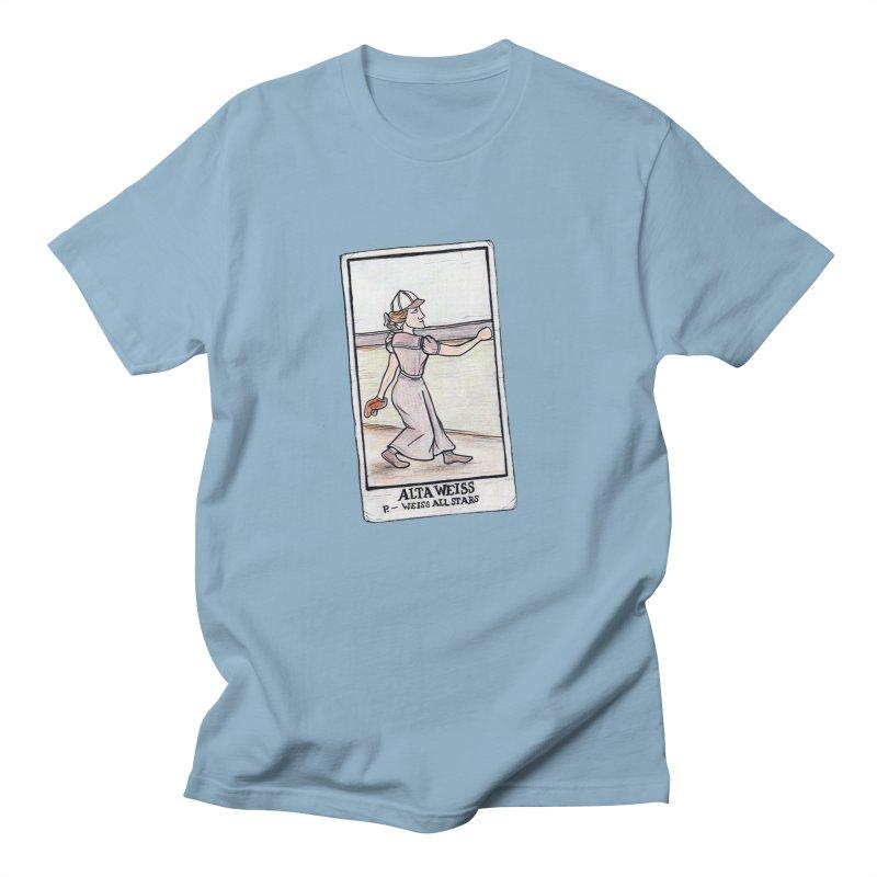 Alta Weiss Women's Regular Unisex T-Shirt by The Gummy Arts Shop