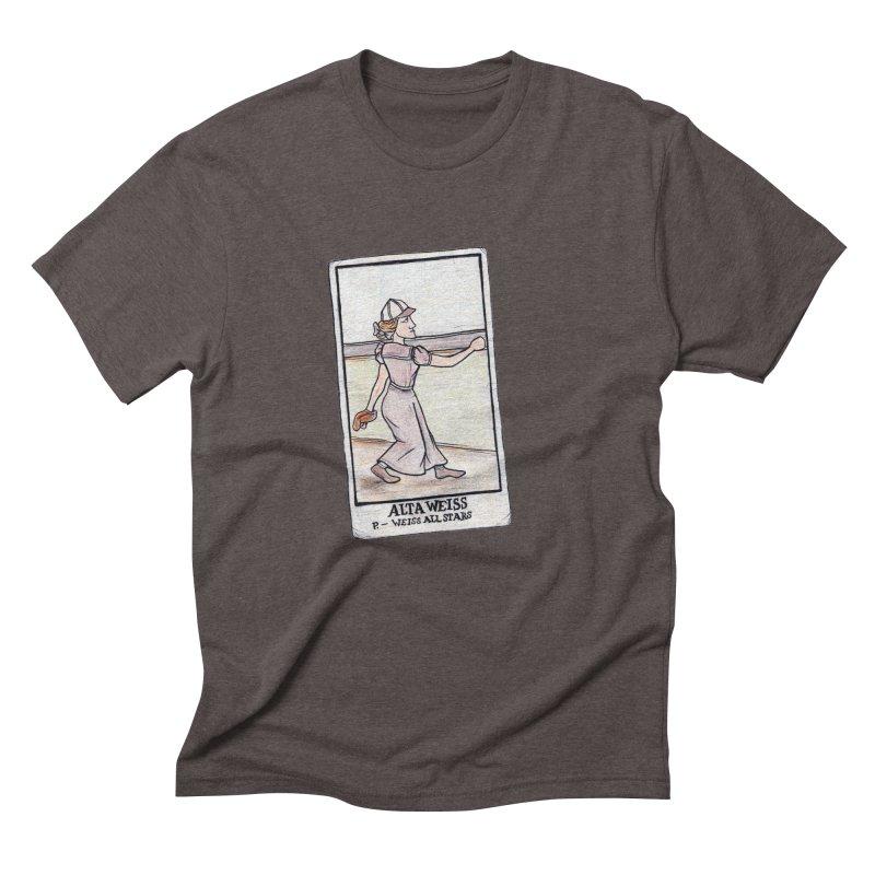 Alta Weiss Men's Triblend T-Shirt by The Gummy Arts Shop