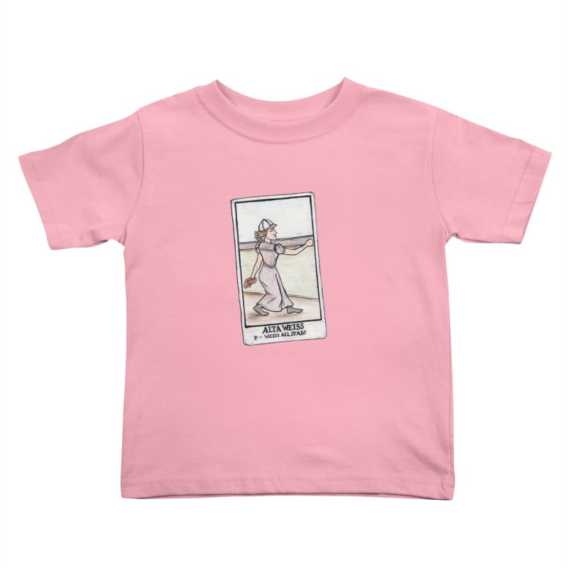 Alta Weiss Kids Toddler T-Shirt by The Gummy Arts Shop