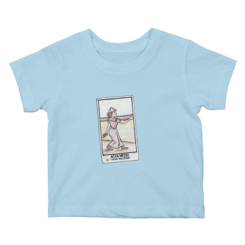 Alta Weiss Kids Baby T-Shirt by The Gummy Arts Shop