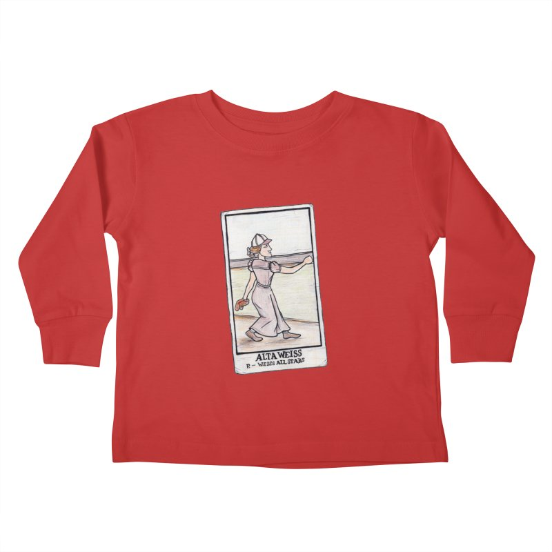 Alta Weiss Kids Toddler Longsleeve T-Shirt by The Gummy Arts Shop