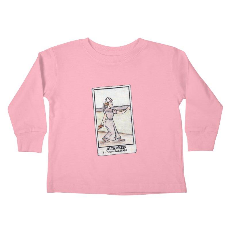 Alta Weiss Kids Toddler Longsleeve T-Shirt by The Gummy Arts Shop