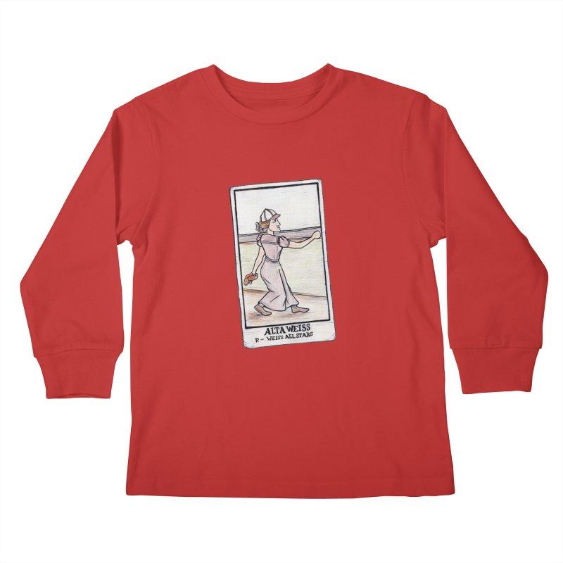 Alta Weiss Kids Longsleeve T-Shirt by The Gummy Arts Shop