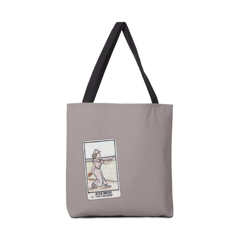 Alta Weiss Accessories Tote Bag Bag by The Gummy Arts Shop
