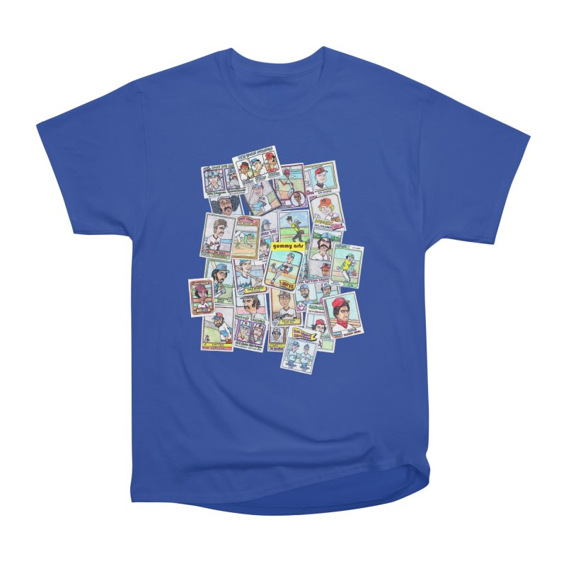 Baseball Cards Men's Classic T-Shirt by The Gummy Arts Shop