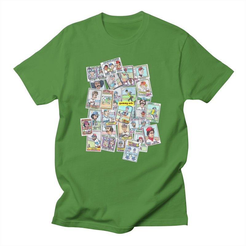 Baseball Cards Men's T-Shirt by The Gummy Arts Shop