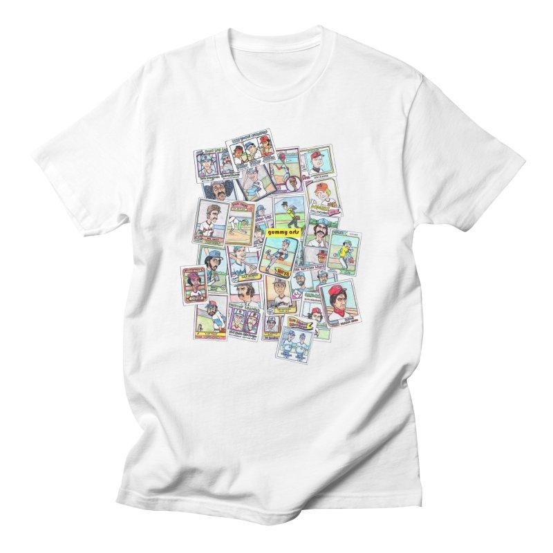 Baseball Cards Women's Unisex T-Shirt by The Gummy Arts Shop