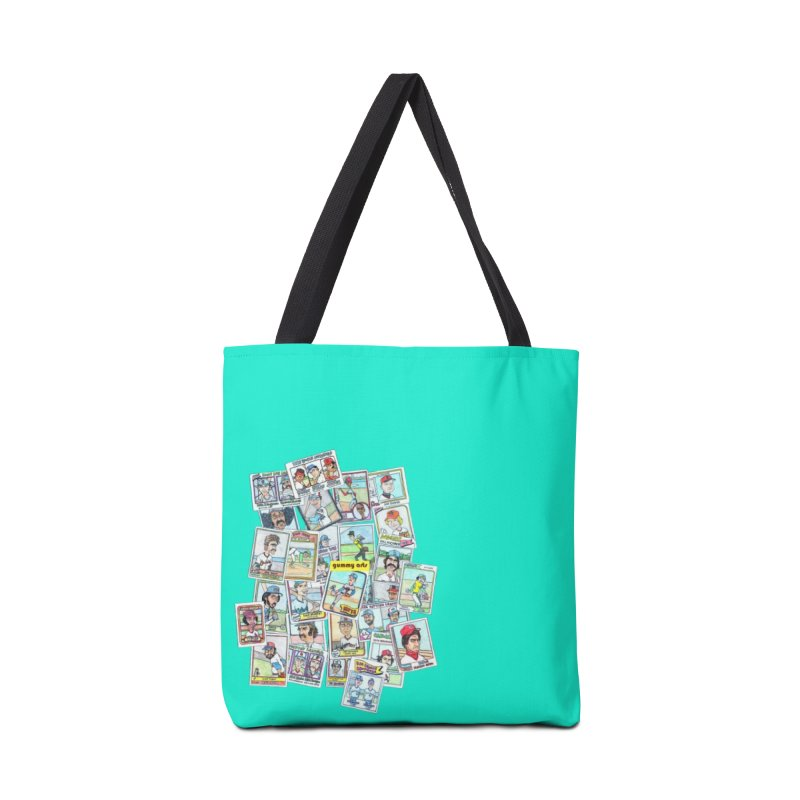 Baseball Cards Accessories Bag by The Gummy Arts Shop