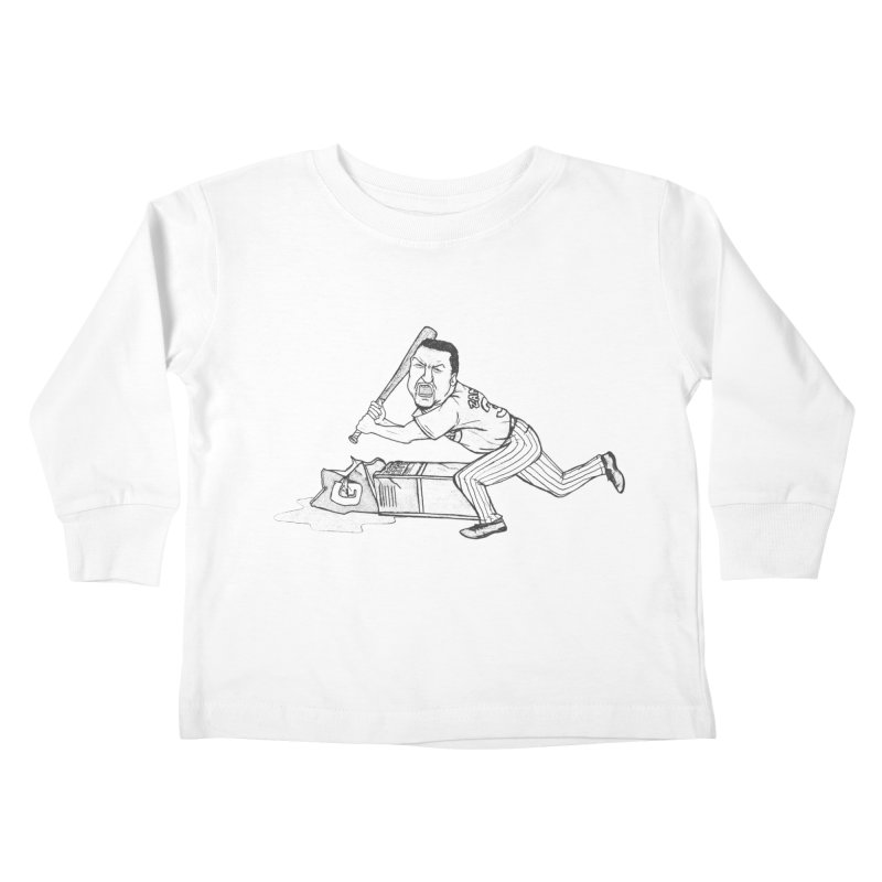 Zambrano (outline) Kids Toddler Longsleeve T-Shirt by The Gummy Arts Shop
