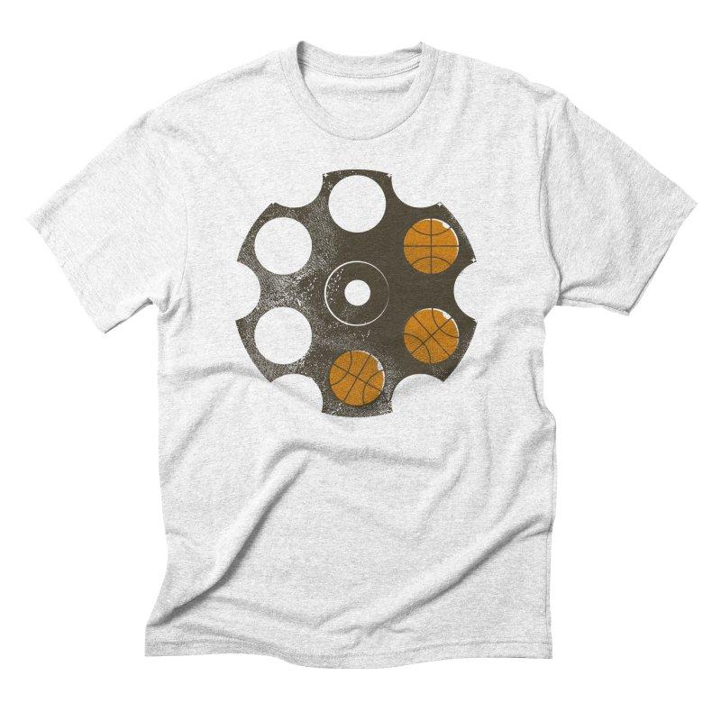 3 point shot Men's Triblend T-shirt by gums's Artist Shop