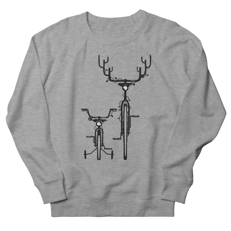 Deer Bicycle Men's Sweatshirt by gums's Artist Shop