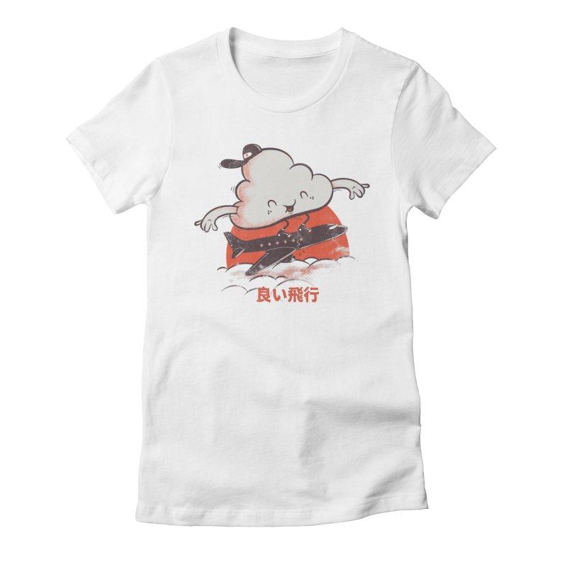 Good Flight Women's Fitted T-Shirt by gums's Artist Shop