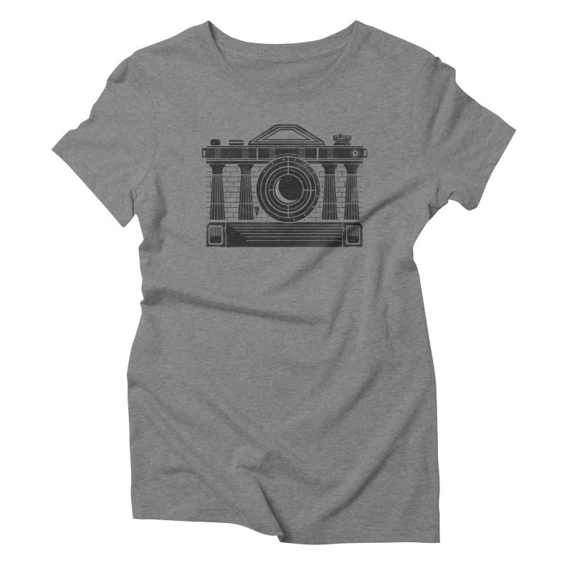 Temple Of Photographie Women's Triblend T-shirt by gums's Artist Shop