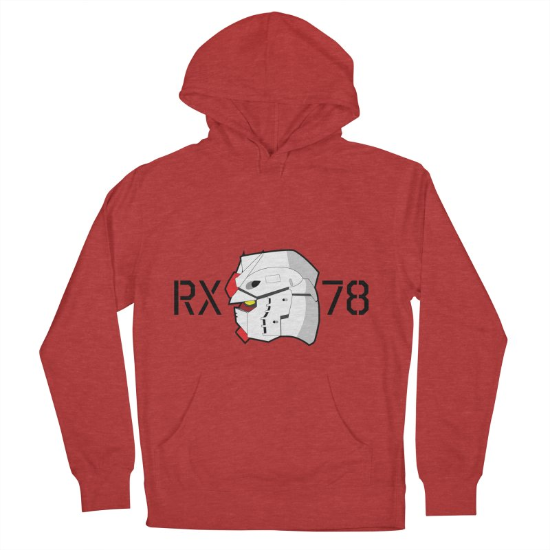 RX-78 Women's French Terry Pullover Hoody by GundamUK's Store!