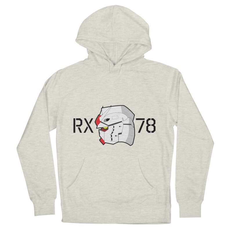 RX-78 Men's French Terry Pullover Hoody by GundamUK's Store!