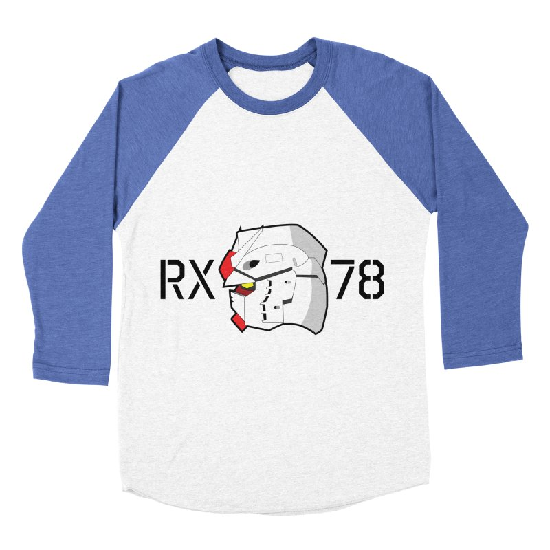 RX-78 Men's Baseball Triblend Longsleeve T-Shirt by GundamUK's Store!