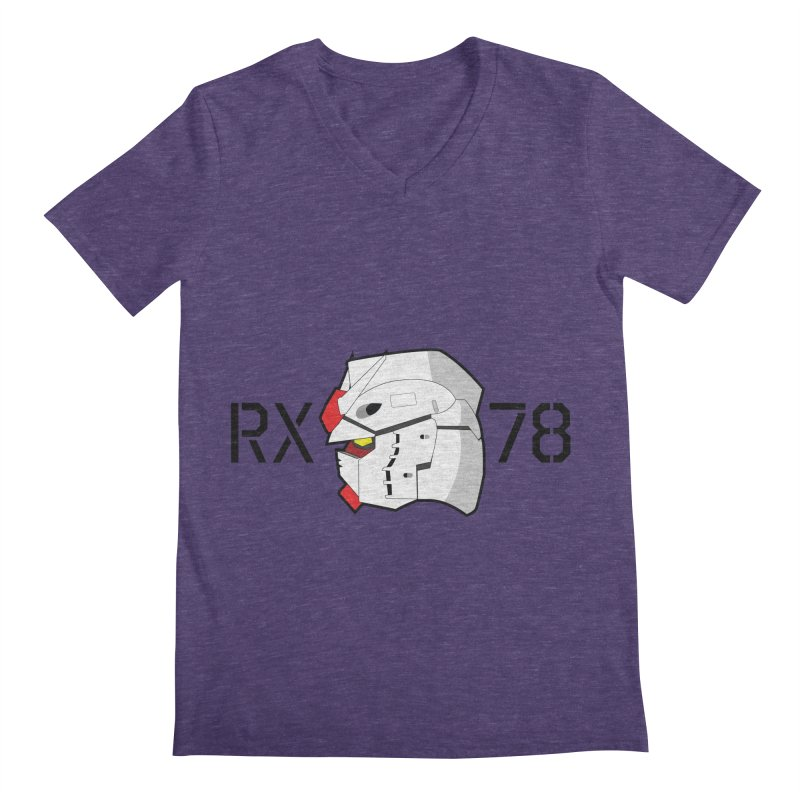 RX-78 Men's Regular V-Neck by GundamUK's Store!