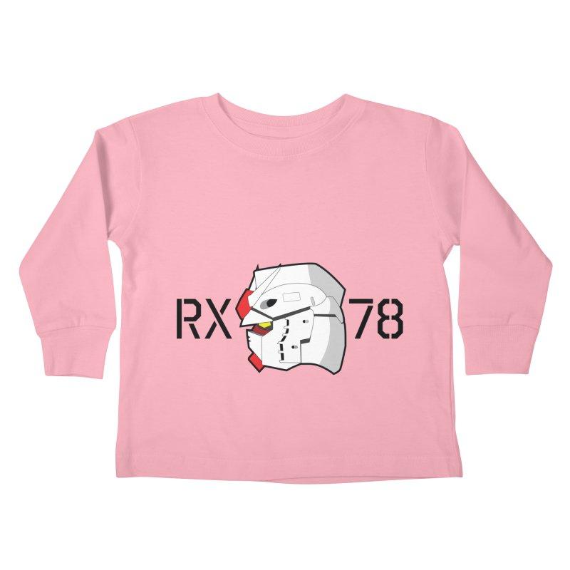 RX-78 Kids Toddler Longsleeve T-Shirt by GundamUK's Store!