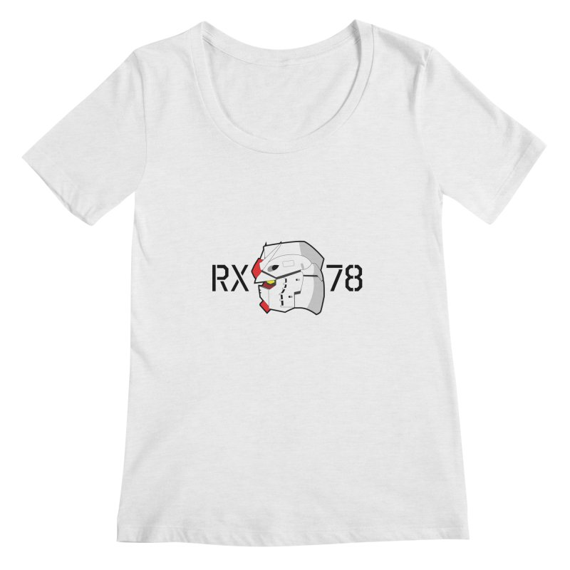RX-78 Women's Regular Scoop Neck by GundamUK's Store!