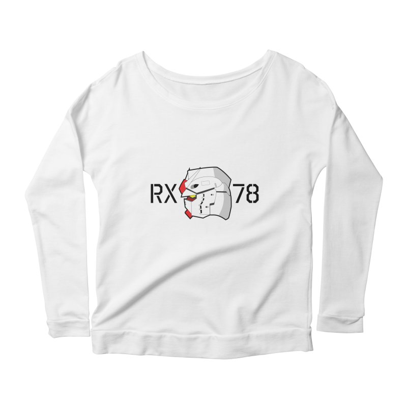 RX-78 Women's Scoop Neck Longsleeve T-Shirt by GundamUK's Store!