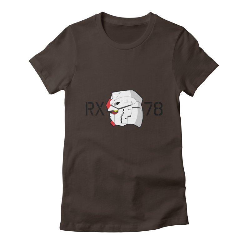 RX-78 Women's Fitted T-Shirt by GundamUK's Store!