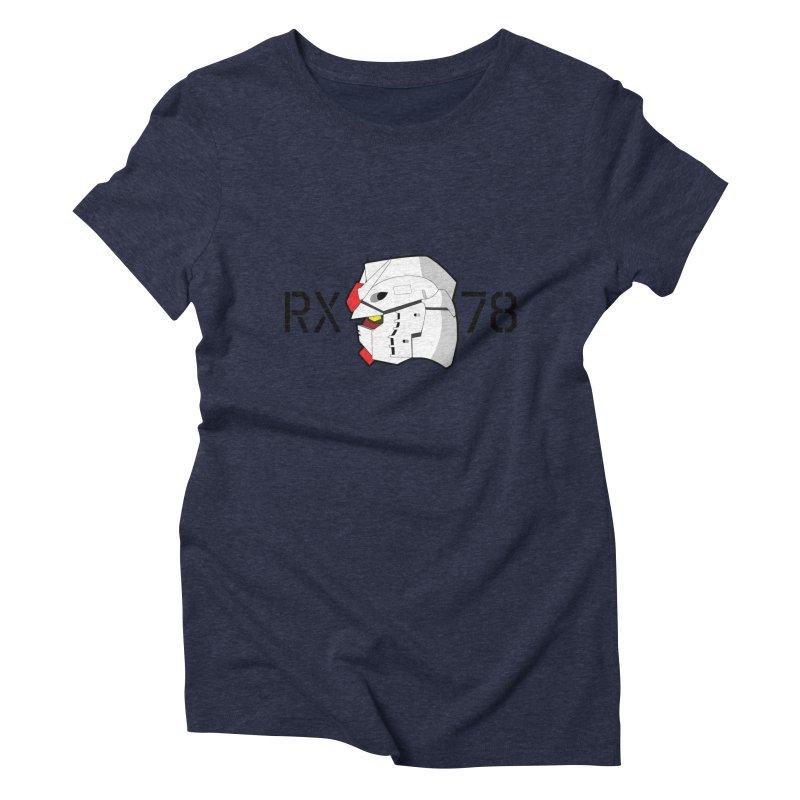 RX-78 Women's Triblend T-Shirt by GundamUK's Store!