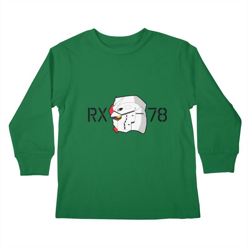 RX-78 Kids Longsleeve T-Shirt by GundamUK's Store!
