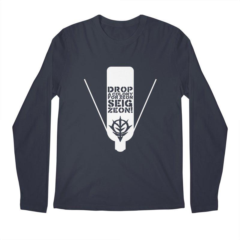 Drop a colony Men's Regular Longsleeve T-Shirt by GundamUK's Store!