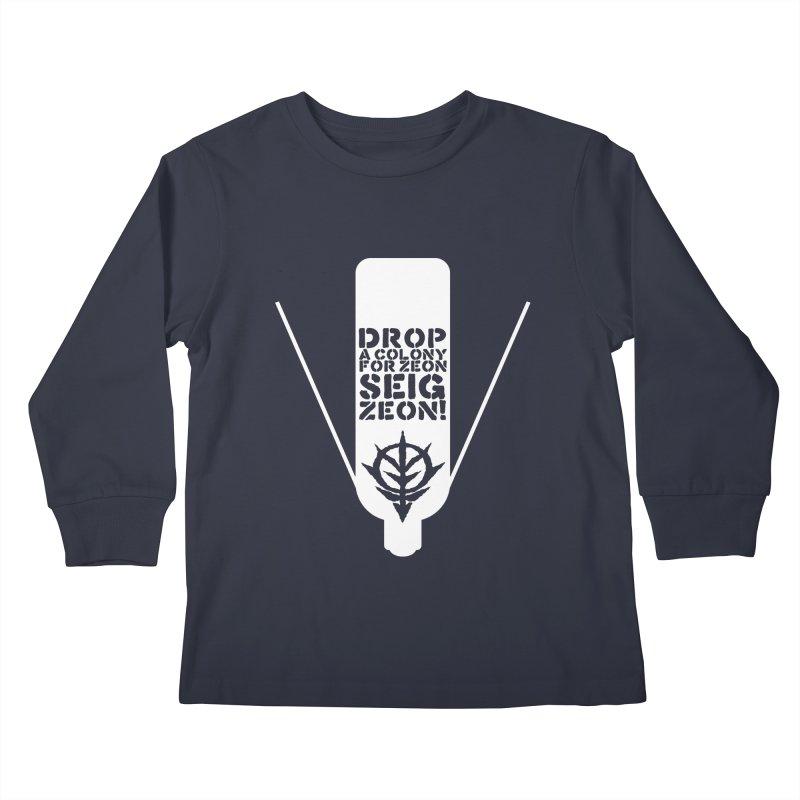 Drop a colony Kids Longsleeve T-Shirt by GundamUK's Store!