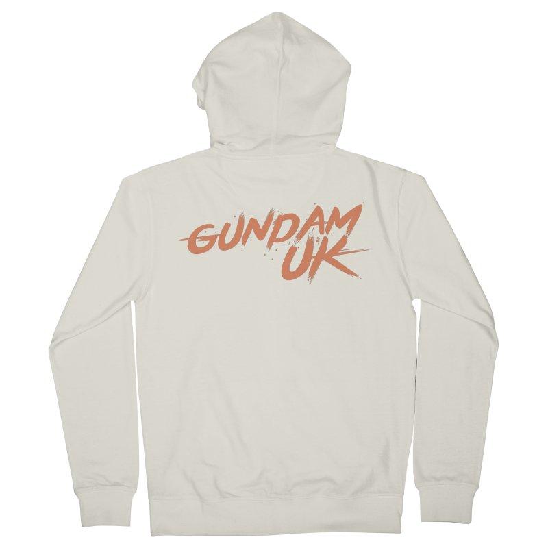 Gundam UK Men's French Terry Zip-Up Hoody by GundamUK's Store!