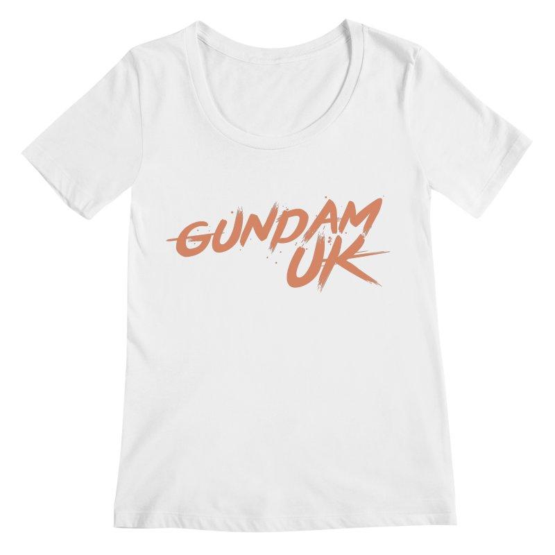Gundam UK Women's Regular Scoop Neck by GundamUK's Store!