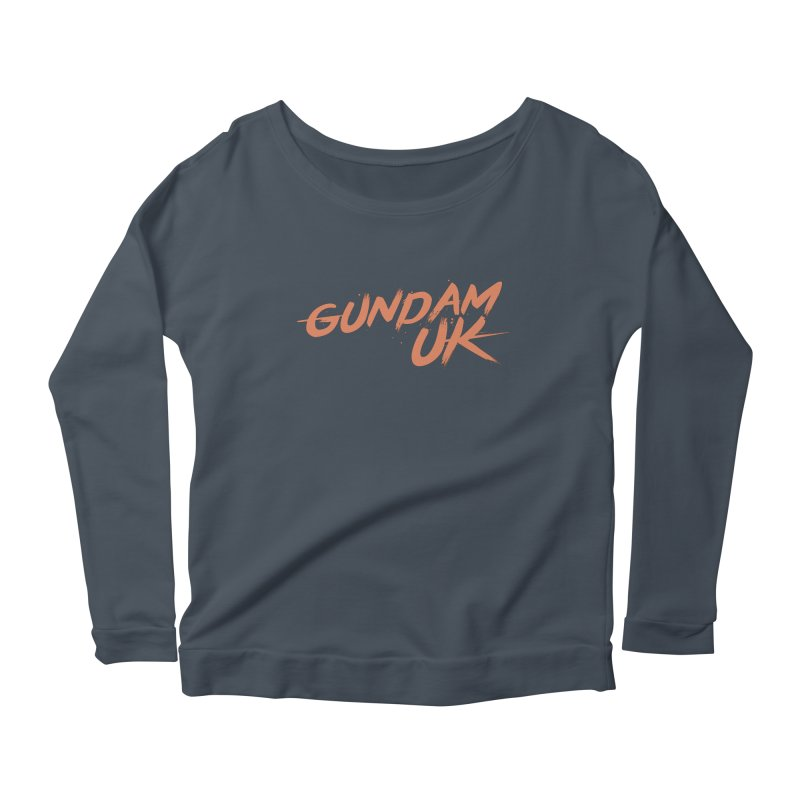 Gundam UK Women's Scoop Neck Longsleeve T-Shirt by GundamUK's Store!