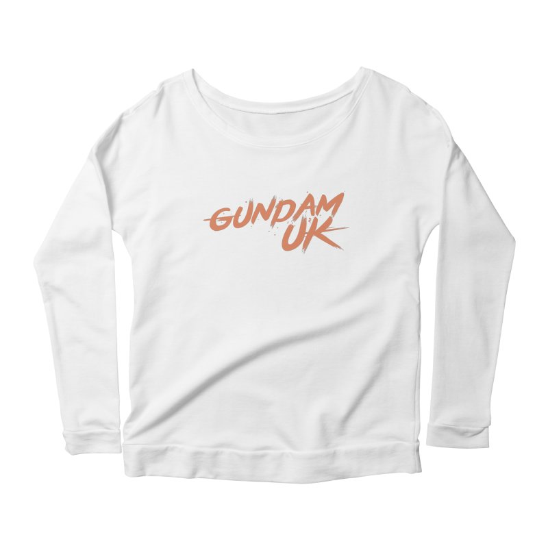 Gundam UK Women's Scoop Neck Longsleeve T-Shirt by GundamUK's Store!
