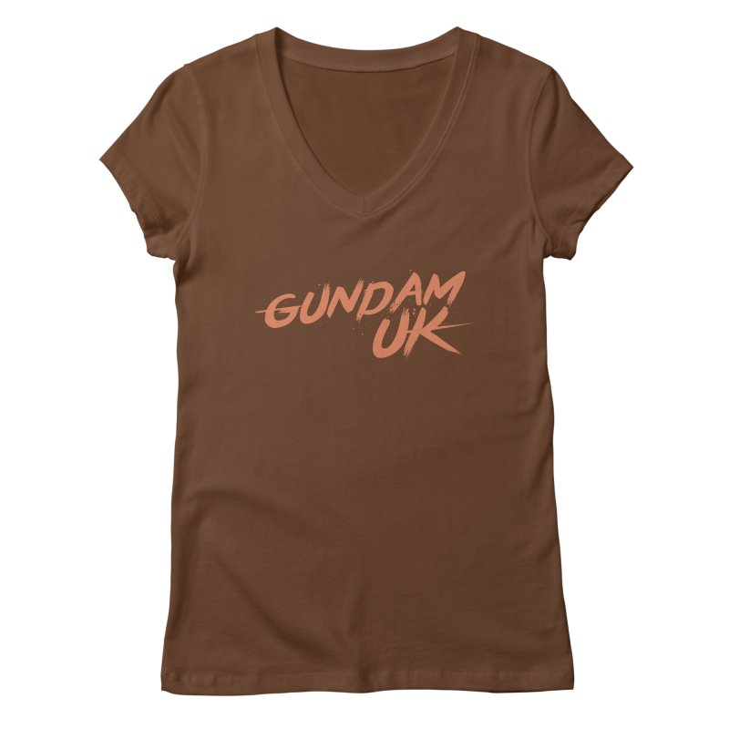 Gundam UK Women's Regular V-Neck by GundamUK's Store!