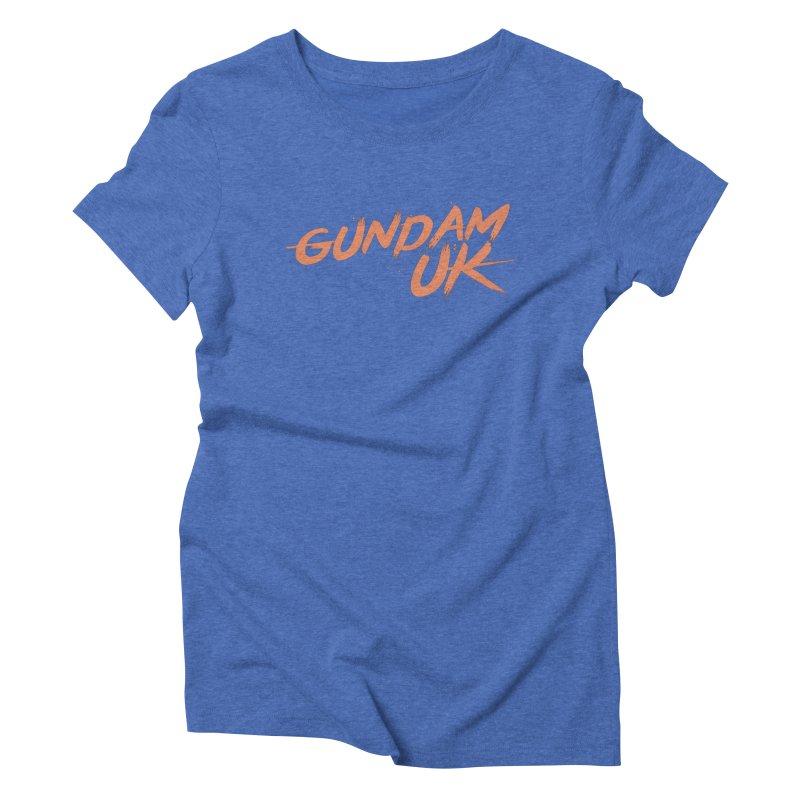 Gundam UK Women's Triblend T-Shirt by GundamUK's Store!